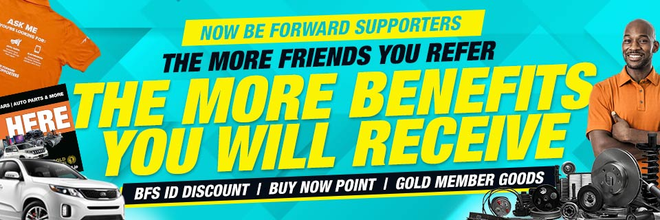 NOW BE FORWARD SUPPORTERS HAVE MORE WAYS TO EARN