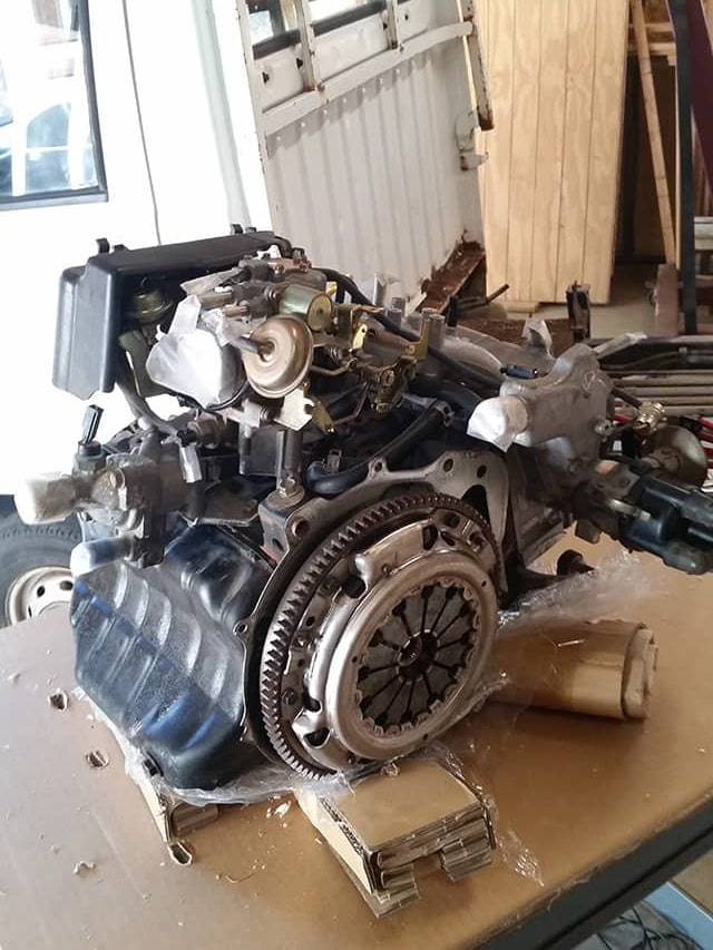 Engine without transmission