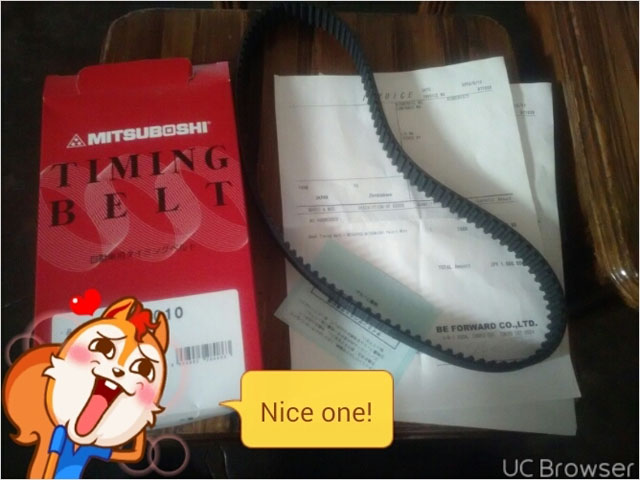 Pajero mini timing belt
